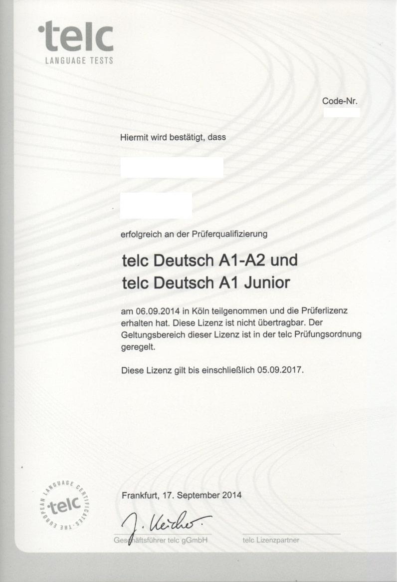 Telc test start deutsch 1