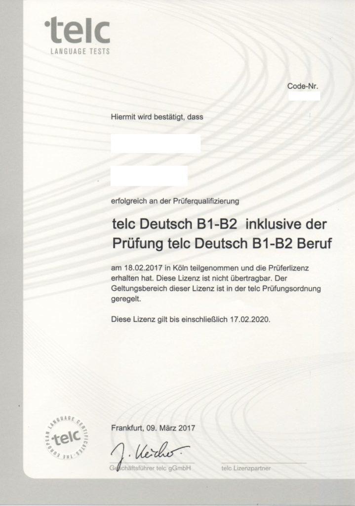 Telc Prüfer Zertifizierungen Wwwbildungsinstituteu